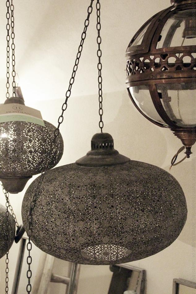 Boho Style Lampe im Bondian Living in Palma