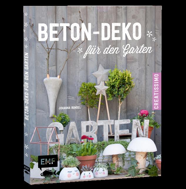 Buchcover Beton Deko fuer den Garten