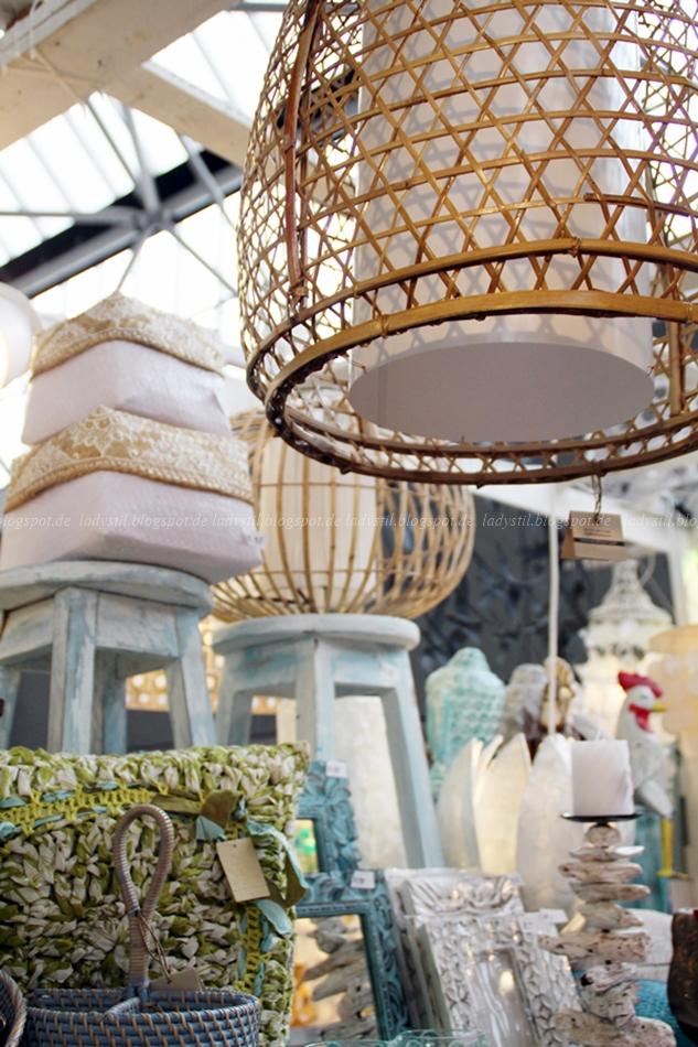 Bali Styling Korblampe auf der VT Wonen & Design Beurs 2015 in AMsterdam
