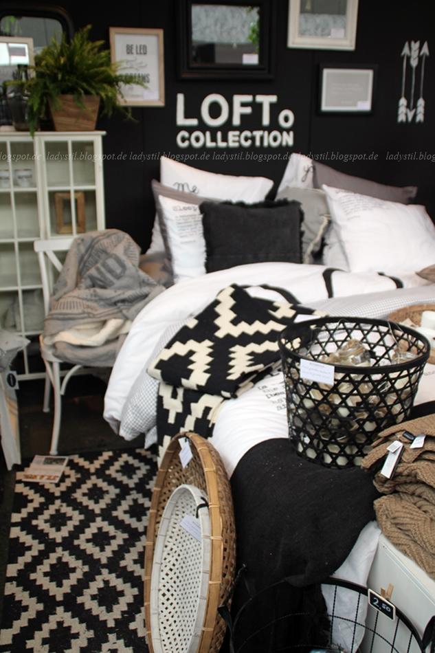 Riverdale Deko schwarz weiß Holz auf der VT Wonen & Design Beurs in Amsterdam 2015
