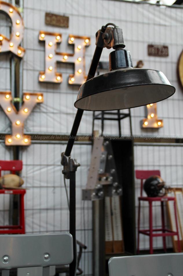 Spoor 38 Industrielampe Leuchtbuchstaben