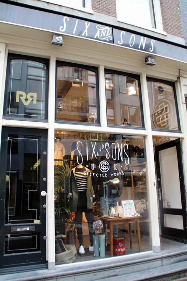 Concept Store Amsterdam Six and Sons Vintage Industriestil niederländisches Design