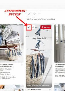 So funktioniert der Pinterest Ausprobiert-Button