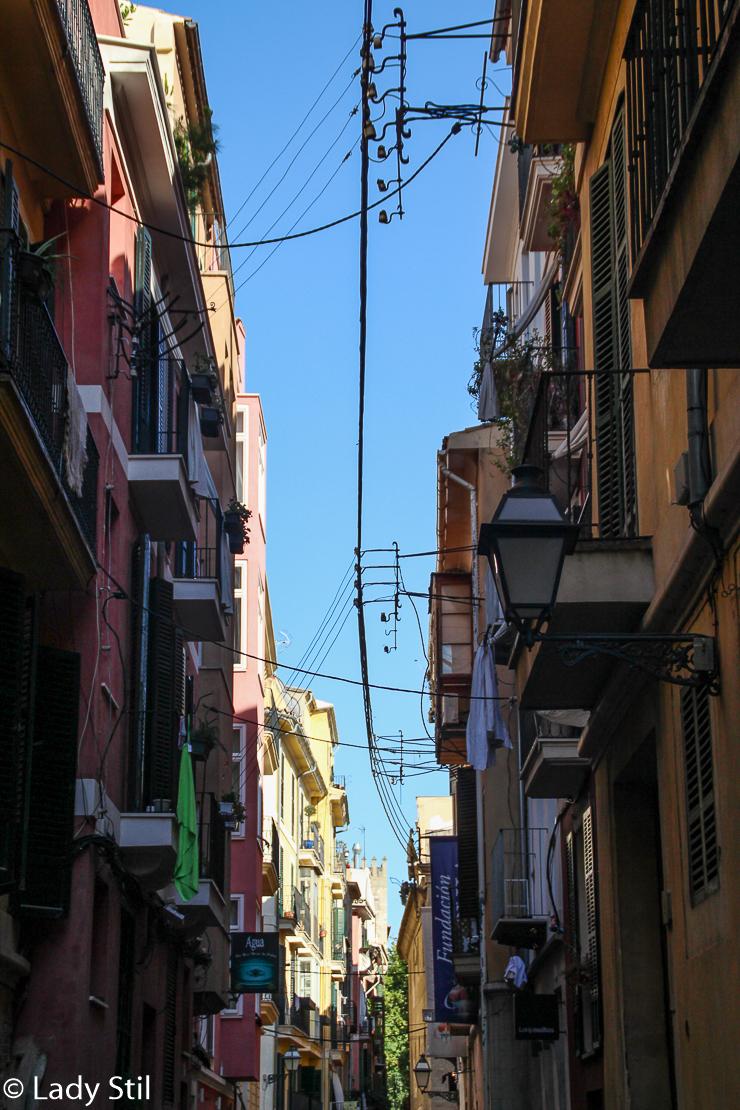Mallorca Häuserschlucht