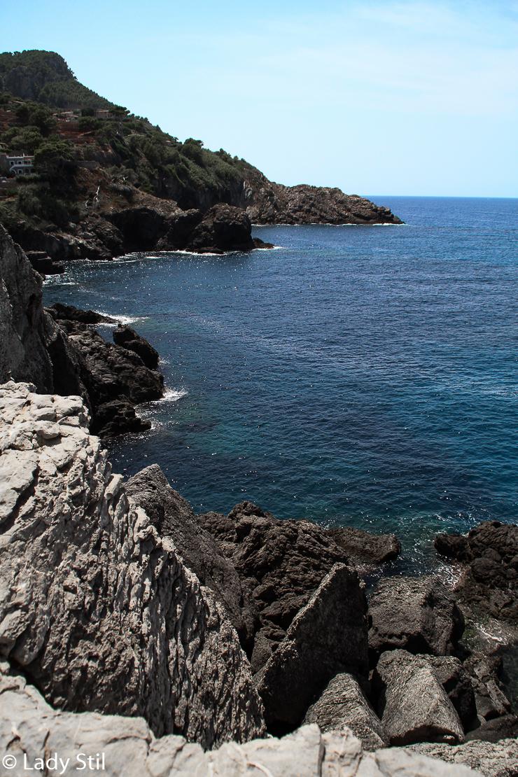 Mallorca Banyalbufar Küstenblick