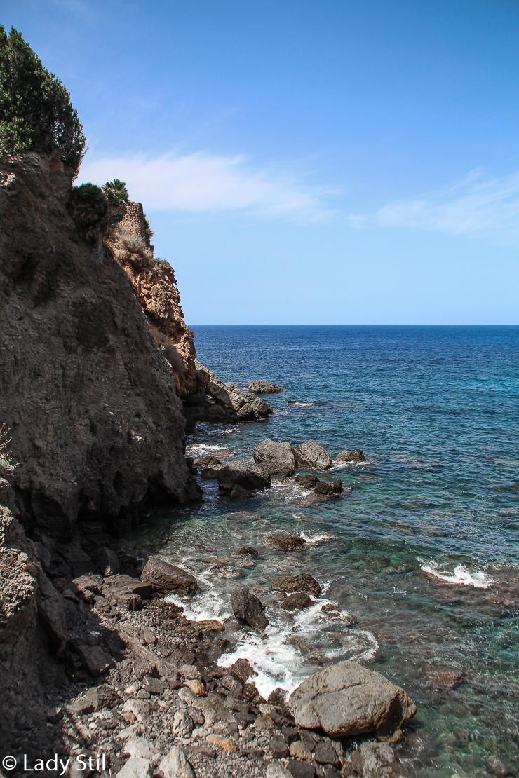 Mallorca Banyalbufar Badbucht