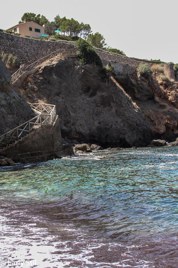 Mallorca Banyalbufar Badebucht