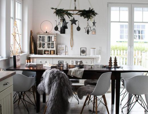 Hängender Tisch-Kranz DIY