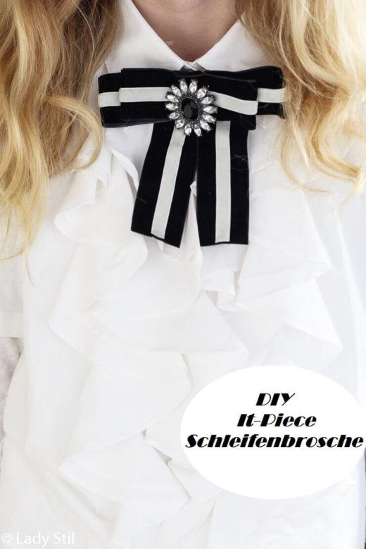DIY Schleifenbrosche