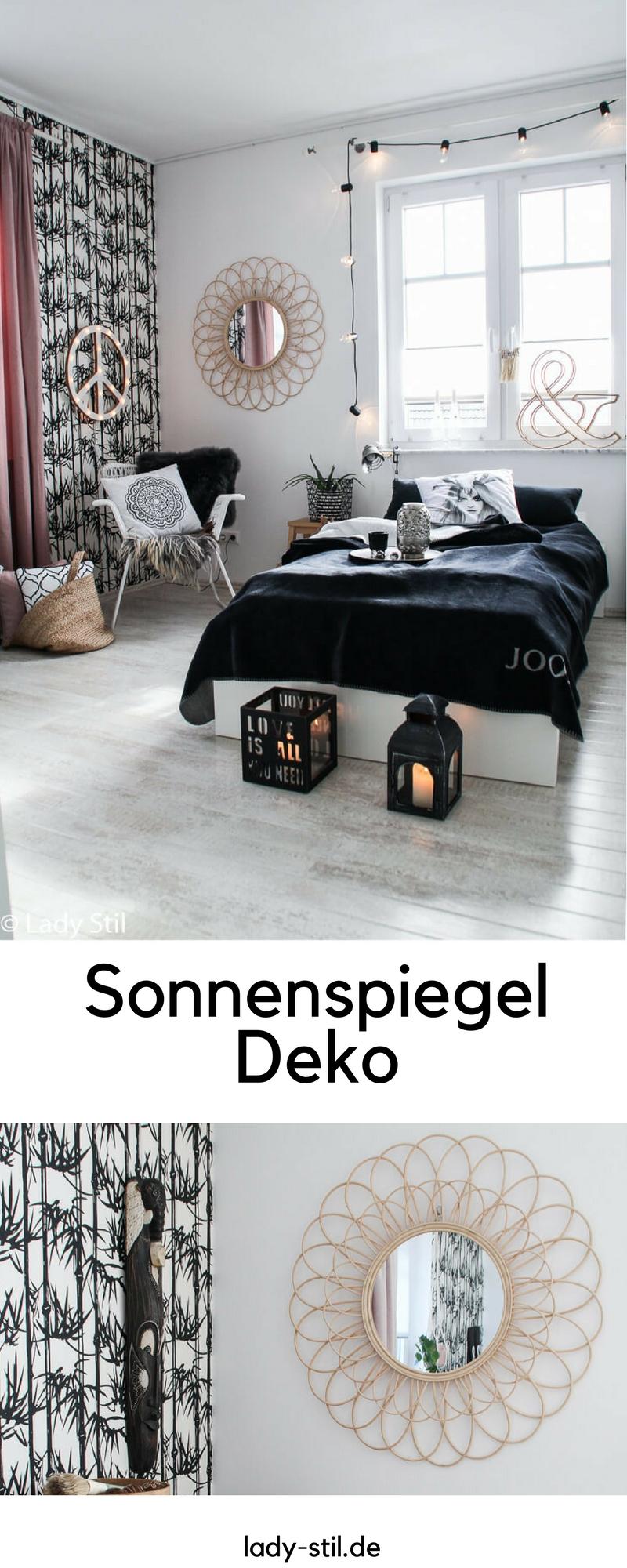 Sonnenspiegel Deko Interior