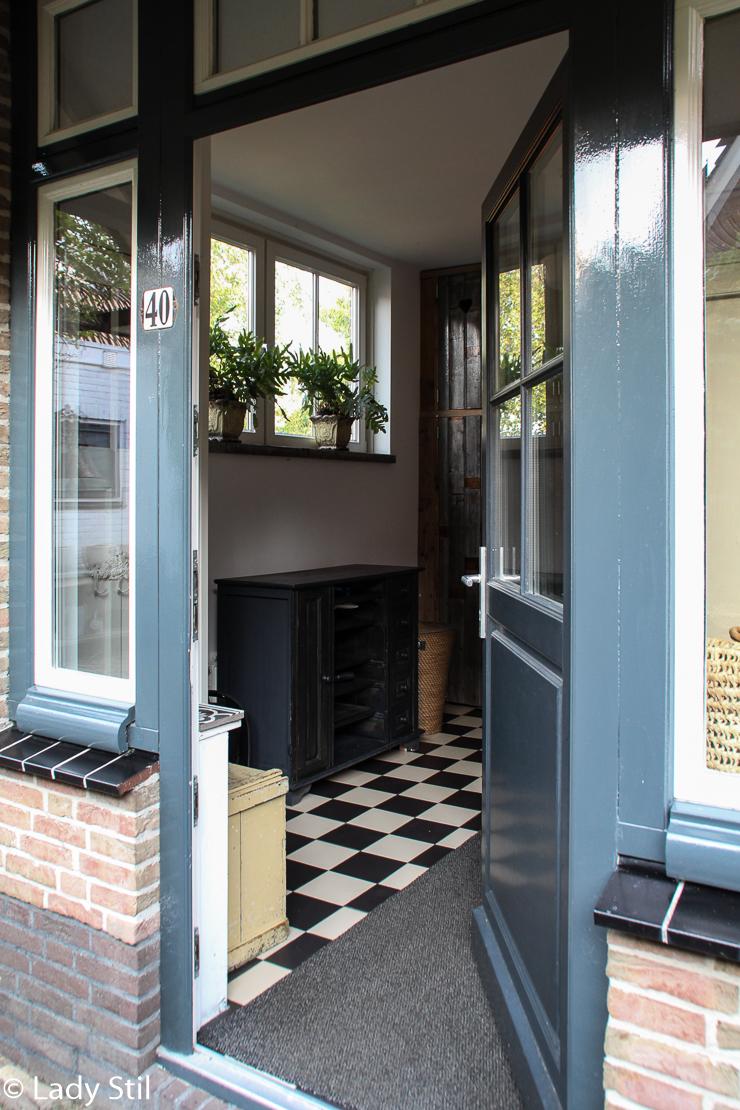 Urlaub in Holland Haus Flur