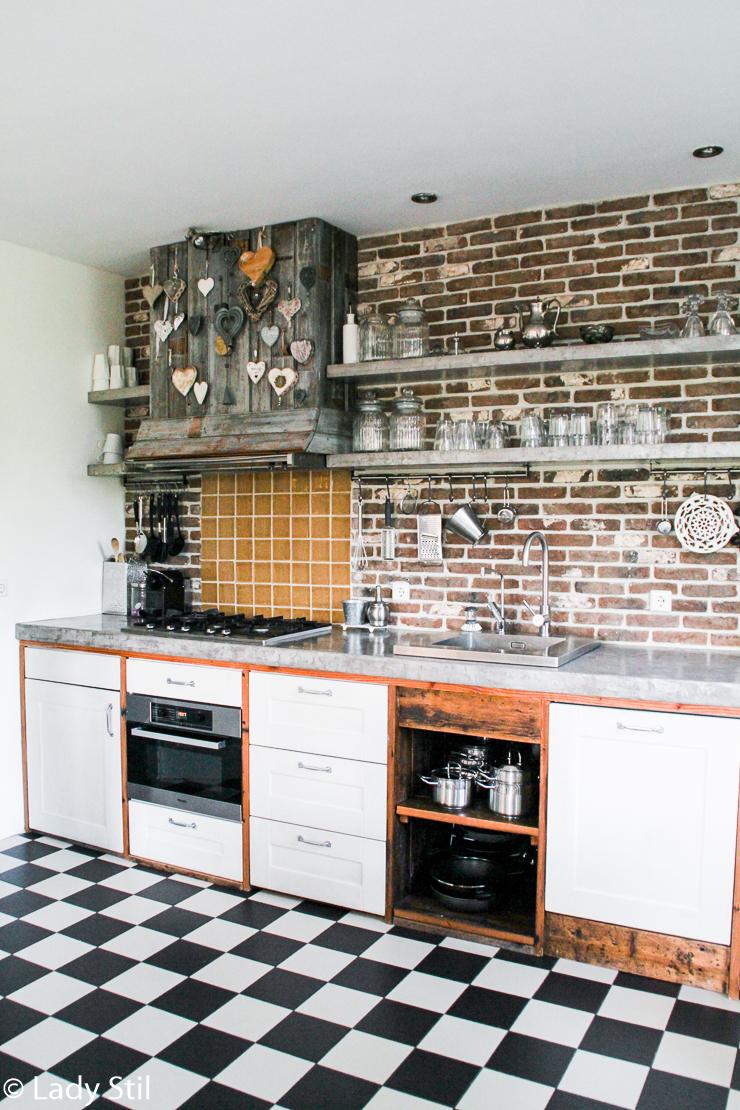 Urlaub Holland Haus Küche