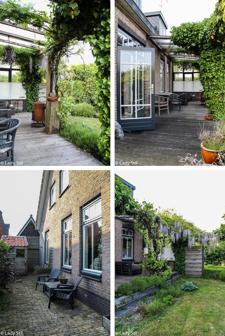 Urlaub Holland Haus Terrasse Garten