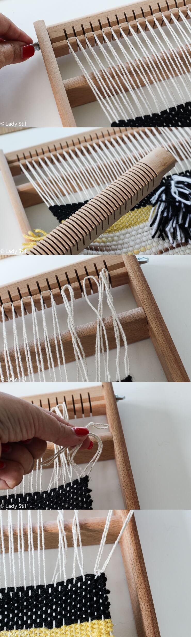 DIY Wandteppich weben