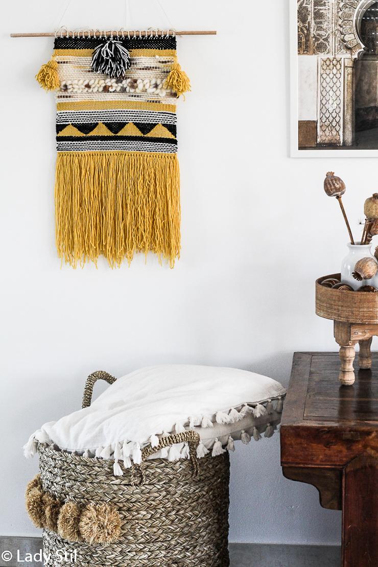 DIY Wandbehang weben