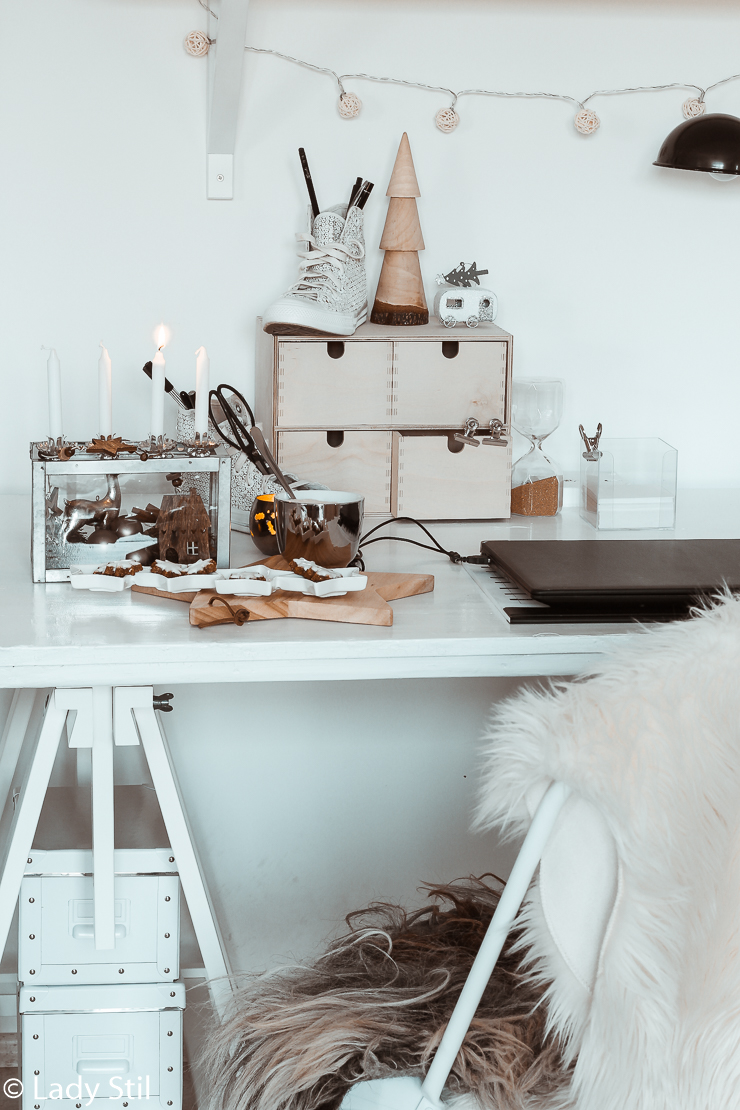 Adventskranz Alternative kleine Räume Büro