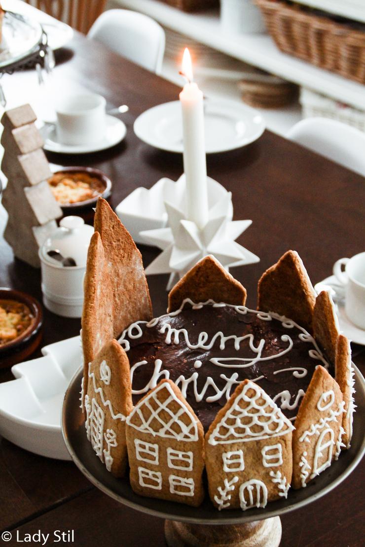 Leichte Sachertorte Lebkuchen Festtagstorte Weihnachten