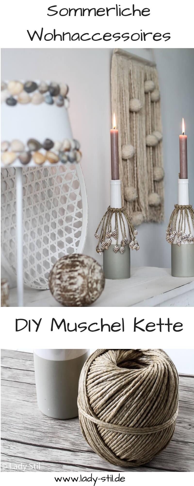 DIY Muschelkette