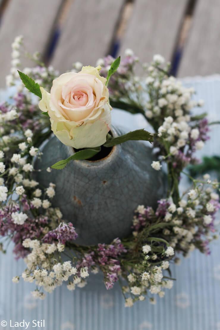 DIY Blumenkranz binden