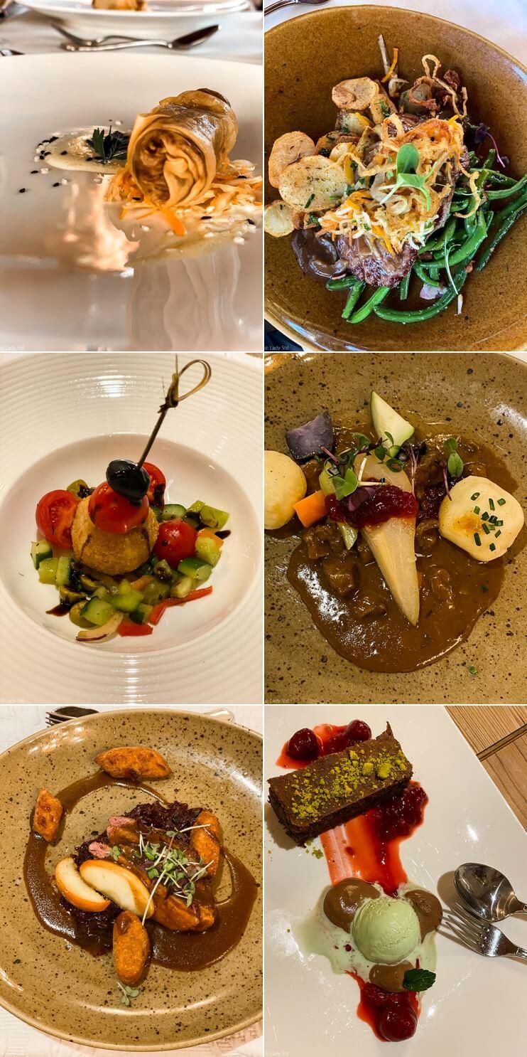 Familienhotel Oberforsthof Österreich 5 Gänge Menü Kulinarik Gourmet