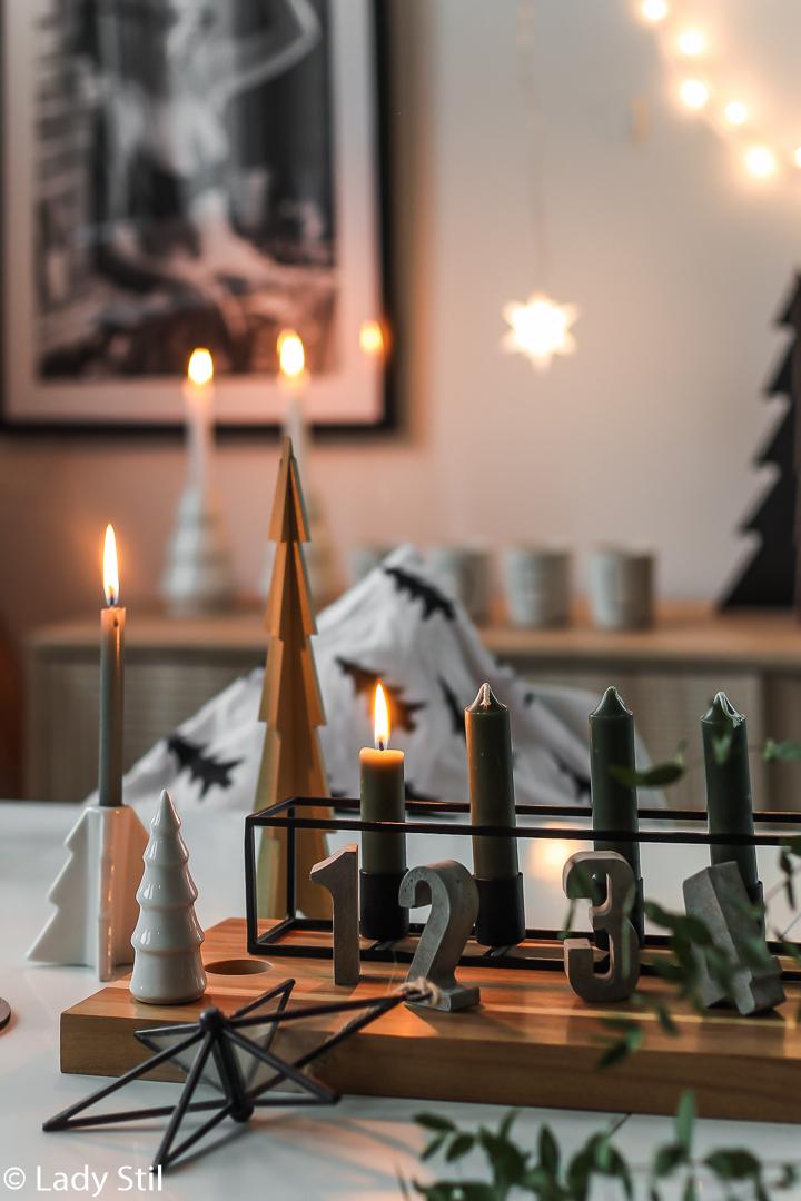 15 Adventskranz Ideen