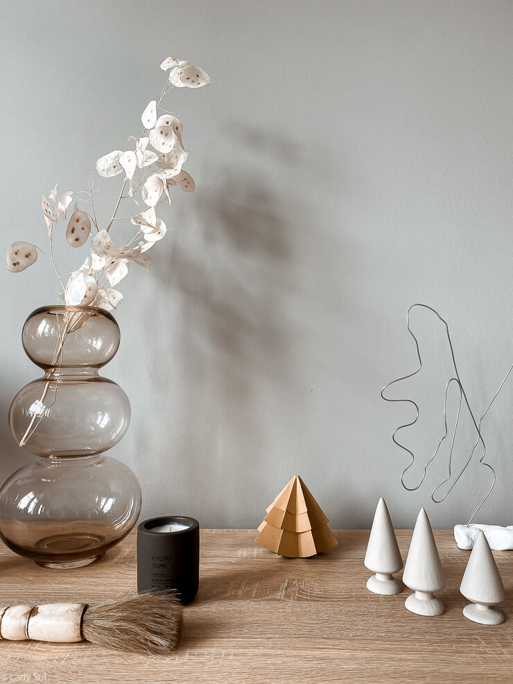 DIY Tannenbäume aus Papier