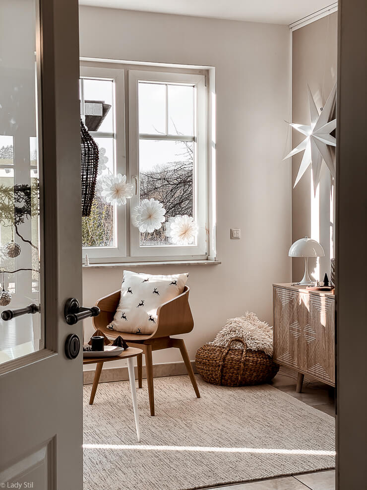 Snöblomma DIY Schneeblumen selbermachen Anleitung